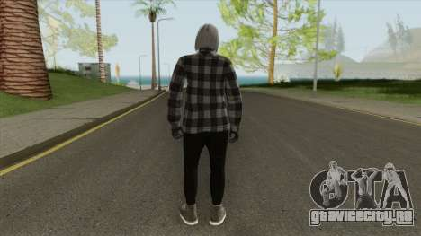 Female Random Skin From GTA V Online для GTA San Andreas