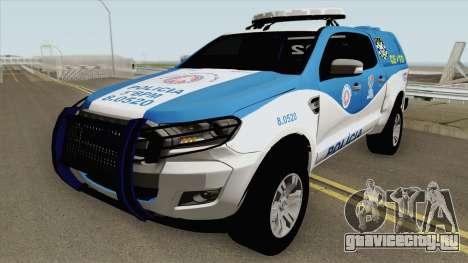 Ford Ranger 2017 CETO для GTA San Andreas
