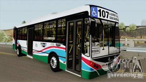 Linea 107 Metalpar Iguazu II Agrale MT17 Interno для GTA San Andreas