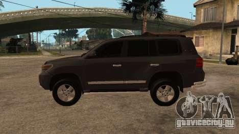 Toyota Land Cruiser для GTA San Andreas