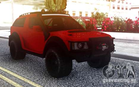 Range Rover Evoque для GTA San Andreas