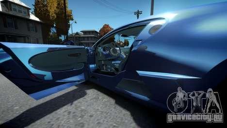 Bugatti Divo для GTA 4