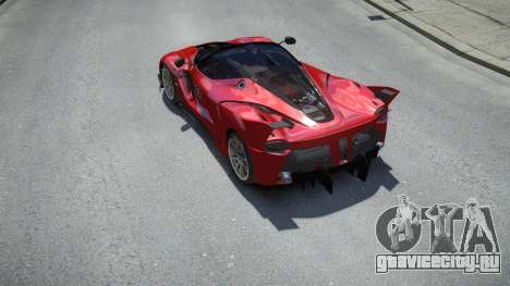 Ferrari FXX-K 2015 для GTA 4