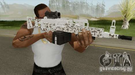 Combat MG MKII Geometry Livery GTA V для GTA San Andreas