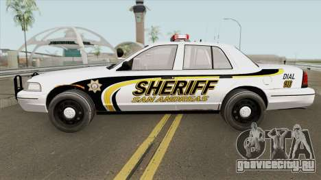 Ford Crown Victoria SACSO 2007 для GTA San Andreas