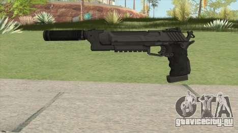 Hummer Pistol Supp для GTA San Andreas