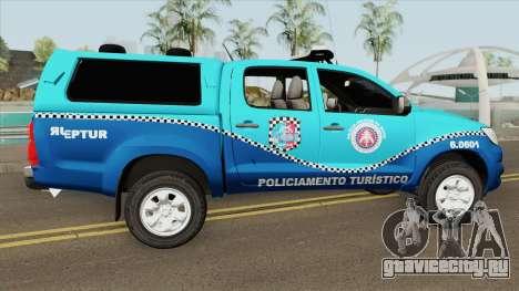 Toyota Hilux 2014 (BEPTUR PMBA) для GTA San Andreas
