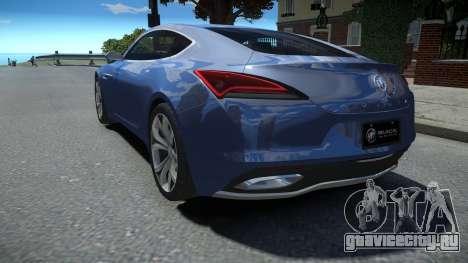 Buick Avista Concept 2016 LQ для GTA 4