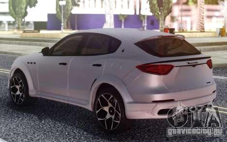 Maserati Levante Novitec для GTA San Andreas