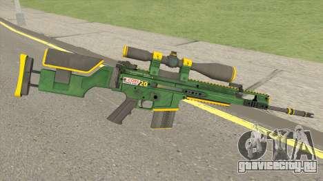 CS-GO SCAR-20 (Powercore Skin) для GTA San Andreas