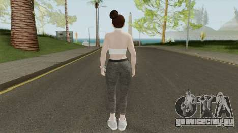 Mai Shiranui Casual V6 для GTA San Andreas