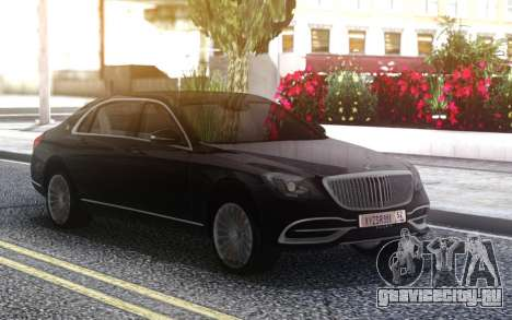 Mercedes-Benz Maybach для GTA San Andreas