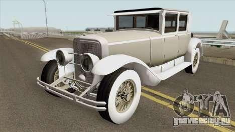 Cadillac 341A Deluxe Sedan Roosevelt Style 1928 для GTA San Andreas