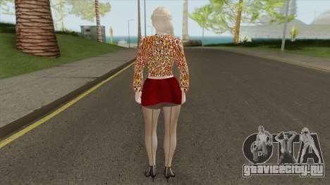Helena Casual V6 для GTA San Andreas