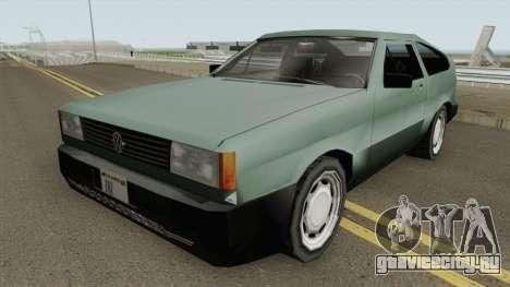 Volkswagen Gol GTi 1990 Beta 2 TCGTABR для GTA San Andreas