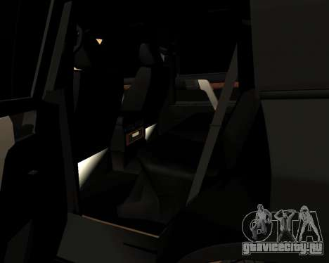 Toyota Land Cruiser 200 Stock для GTA San Andreas