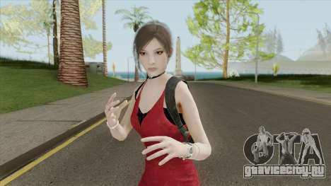 Ada Wong From RE2 Remake для GTA San Andreas