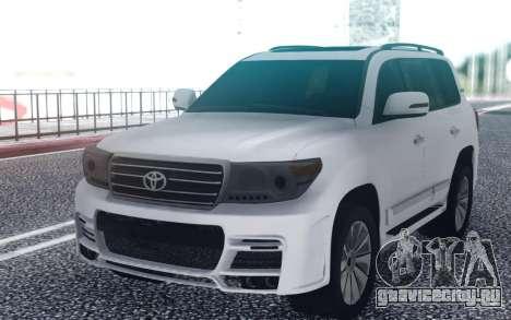 Toyota Land Cruiser 200 Zeus для GTA San Andreas