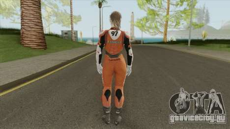 Claire Elza Walker Suit From RE2 Remake для GTA San Andreas
