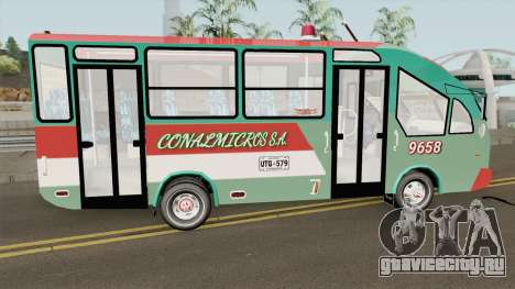 De Busetas Colombiana V2 для GTA San Andreas