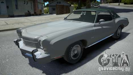 Chevrolet Monte Carlo 1973 для GTA 4