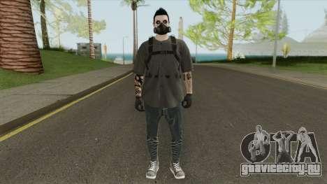 Male Random Skin From GTA V Online для GTA San Andreas