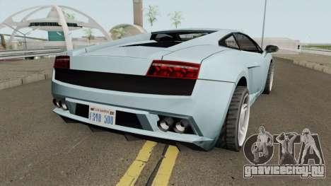 Lamborghini Gallardo SA Style TCGTABR для GTA San Andreas