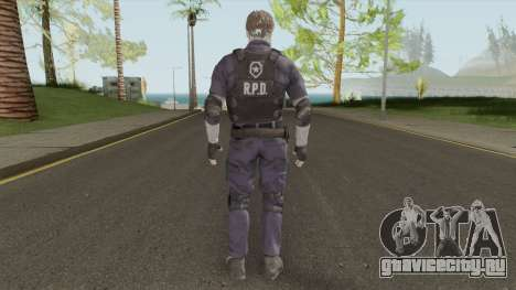 Leon Scott Kennedy From RE 2 Remake для GTA San Andreas