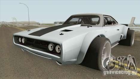 Dodge Ice Charger RT 70 для GTA San Andreas