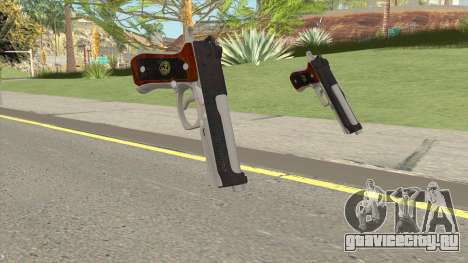 Samurai Edge Wesker Model для GTA San Andreas
