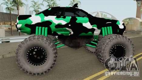 Nissan Skyline R32 Monster Truck Camo для GTA San Andreas