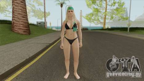 Beach Girl GTA V для GTA San Andreas