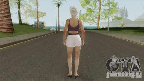 Jill Valentine Casual V1 для GTA San Andreas