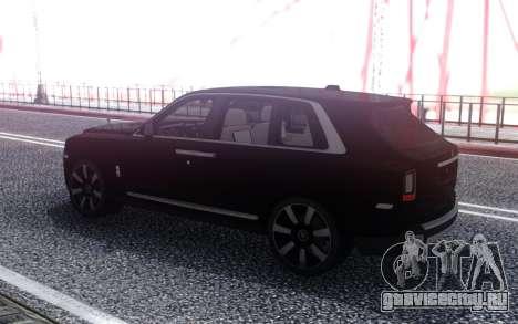 2019 Rolls Royce Cullinan для GTA San Andreas