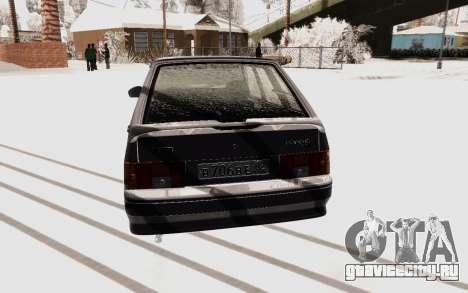 ВАЗ 2114 Зима для GTA San Andreas
