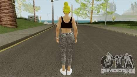 Nyotengu Casual V2 для GTA San Andreas