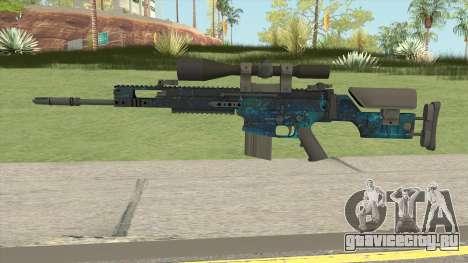 CS-GO SCAR-20 (Leak Skin) для GTA San Andreas