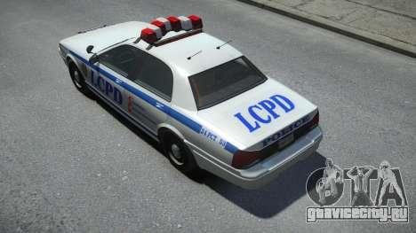 Vapid Police Cruiser для GTA 4