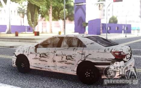Toyota Camry 2016 Crashed для GTA San Andreas
