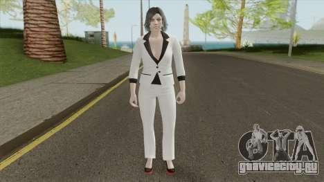Female Random Skin 3 From GTA V Online для GTA San Andreas