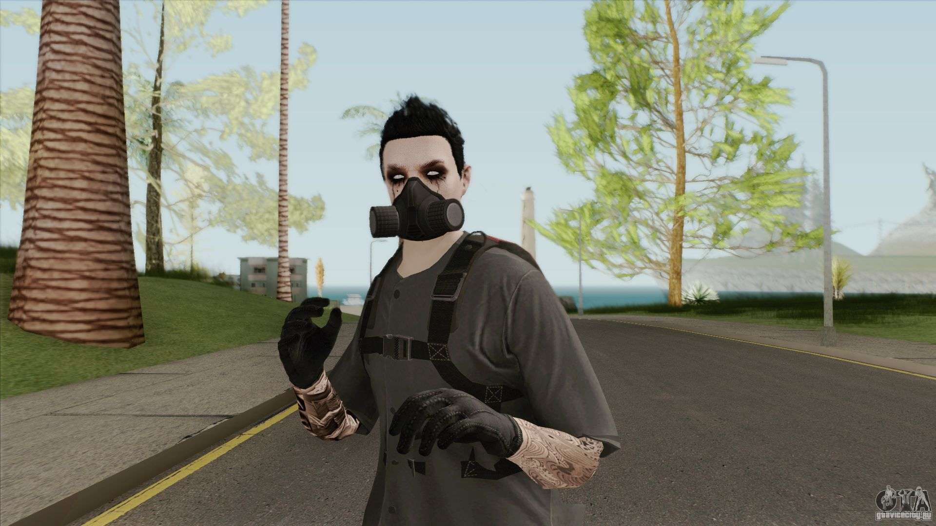 Male Random Skin From Gta V Online для Gta San Andreas