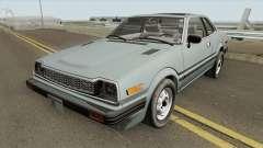 Honda Prelude 1.8l 1980 (US-Spec) для GTA San Andreas