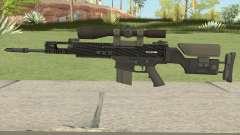 CS-GO SCAR-20 (Carbon Fiber Skin) для GTA San Andreas