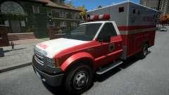 Vapid Sadler Ambulance Non-ELS для GTA 4