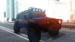 Toyota FJ Cruiser Offroad для GTA San Andreas