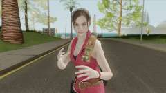 Claire Redfield Classic Suit RE2 Remake для GTA San Andreas