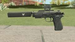 Contract Wars Beretta 92 для GTA San Andreas
