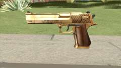 Desert Eagle Gold GTA IV для GTA San Andreas