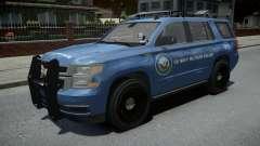 Chevrolet Tahoe US NAVY Military Police для GTA 4