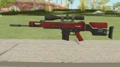 CS-GO SCAR-20 (Webs Darker Skin) для GTA San Andreas